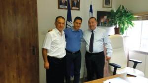 מימין: אברמוביץ, דנילוביץ' ובקשי