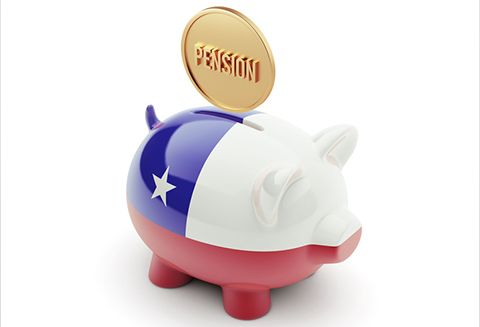 Chile High Resolution Pension Concept High Resolution Piggy Concept