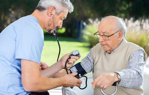 מספר המאושפזים עולה בעקבות מספר הקשישים | צילום: fotolia